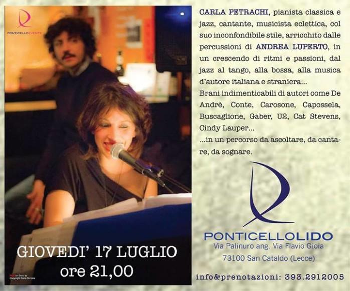 Carla Petrachi e Andrea Luperto