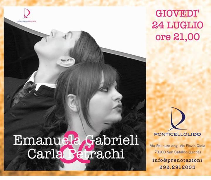 Emanuela Gabrieli e Carla Petrachi