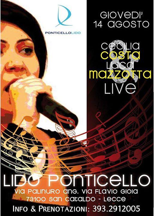 Cecilia Costa e Luca Mazzotta Live
