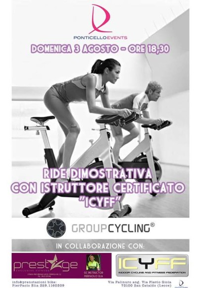 Group Cycling Lido Ponticello
