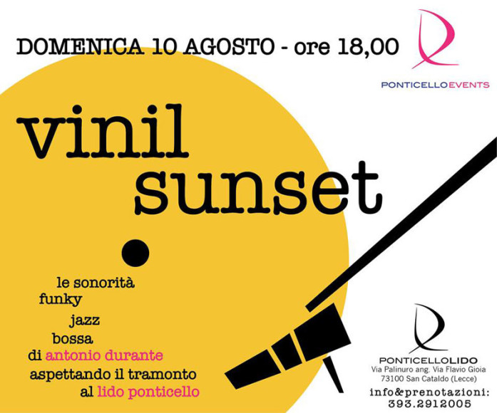 Vinil Sunset Lido Ponticello